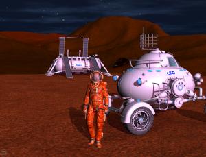Explorer Landed